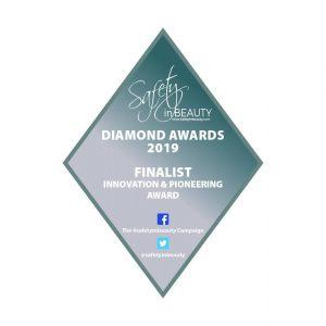 endospheres il trattamento per il rimodellamento del corpo e il ringiovanimento del viso nominato tra i finalisti per per i Safety in Beauty Awards a Londra nella categoria innovazione