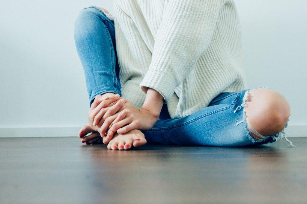 cellulite sulle ginocchia