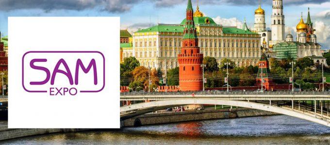 Endospheres trattamenti corpo e viso al SAM Expo di Mosca - Simposio Internazionale di Medicina Estetica