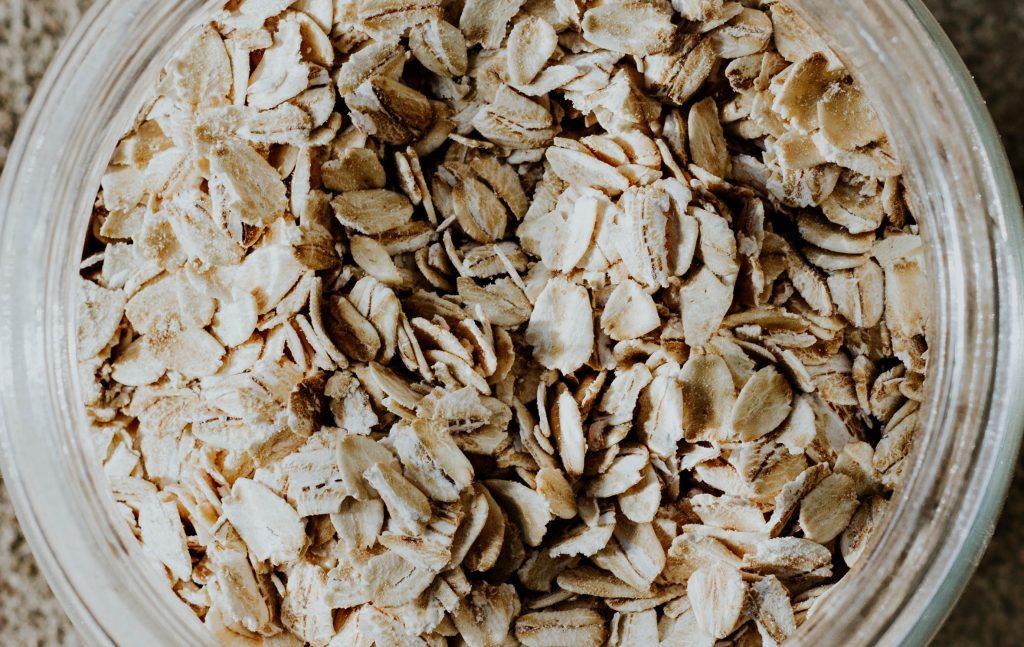 interno cosce e farina d'avena