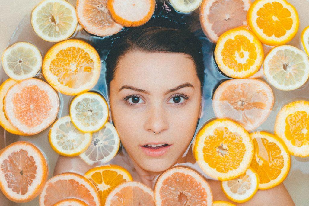 limone per la skincare